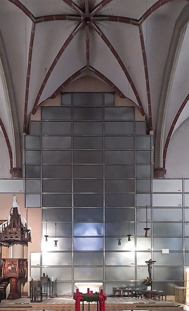 Die St. Gertrud Kirche in Düsseldorf-Eller | Sanierung DHTewes 2017-2018