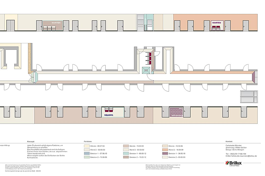 Herz-Jesu-Krankenhaus | DH Tewes Brillux Plan